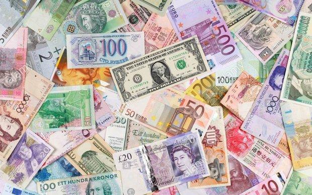 افزایش نرخ دلار مبادله ای، کاهش 352 ریالی قیمت رسمی یورو