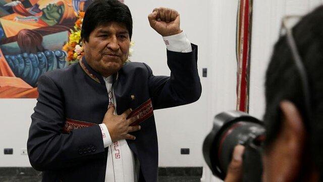 اوو مورالس دوباره رئیس جمهور بولیوی شد