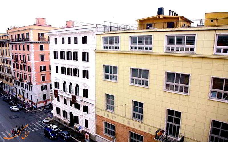 معرفی هتل 3 ستاره تری استل در رم