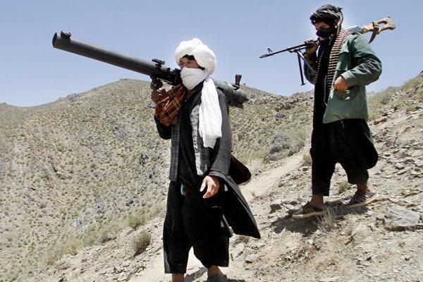 طالبان یک فروند بالگرد ارتش افغانستان را سرنگون کرد