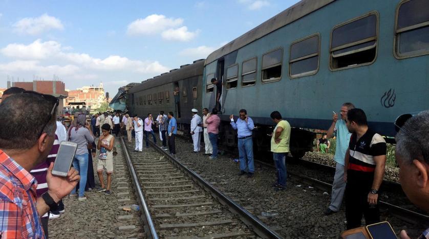 زخمی شدن 38 نفر درپی واژگونی یک قطار در مصر