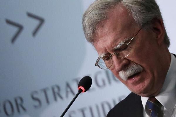 واکنش بولتون به توافقنامه صلح آمریکا با طالبان