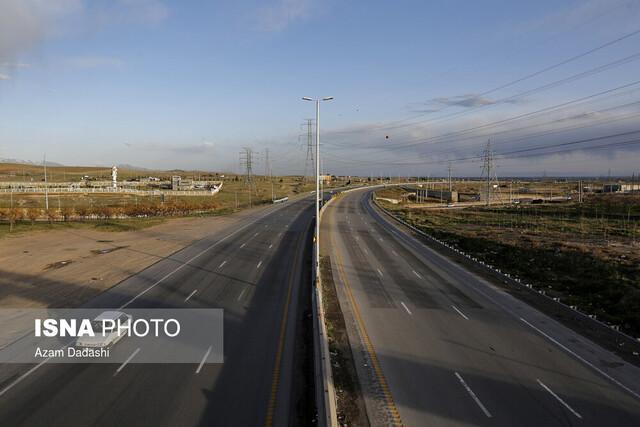 کاهش 56 درصدی تردد خودرو در راه های استان قزوین
