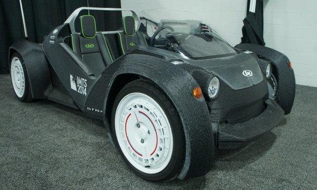 این ماشین توسط پرینتر ساخته شد!