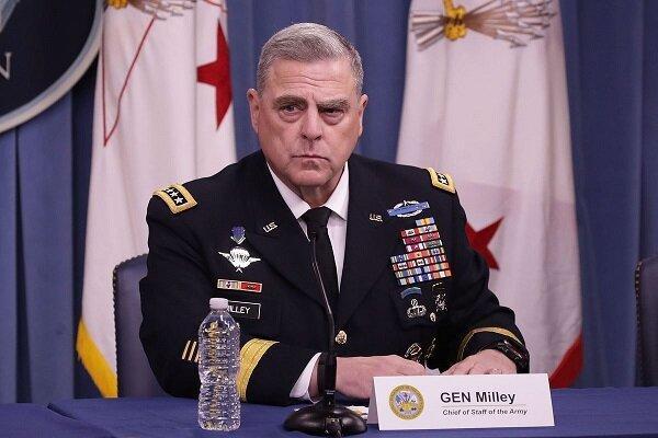 میلی: شواهدی برای پول دادن روسیه جهت کشتن سربازان آمریکایی نداریم