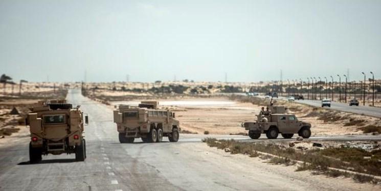 کشته و زخمی شدن شماری از نیروهای ارتش مصر در یک انفجار تروریستی