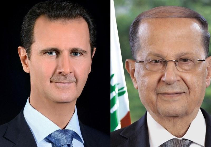 پیغام تسلیت بشار اسد به رئیس جمهور لبنان