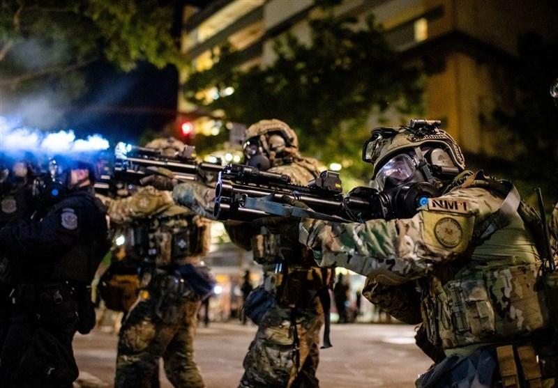 بازداشت 14 نفر در اعتراضات خشونت آمیز پورتلند