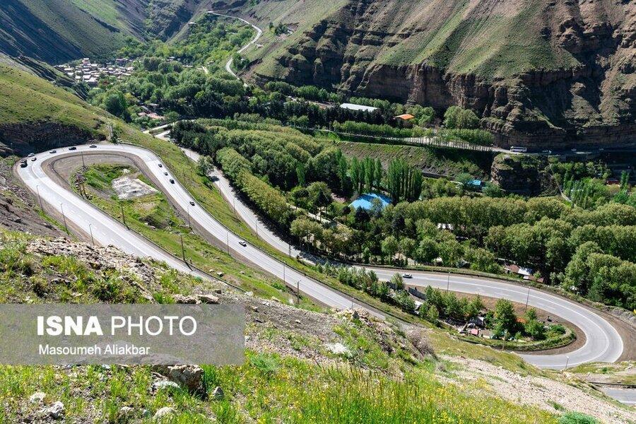 محدودیت های ترافیکی جاده چالوس در تعطیلات تاسوعا و عاشورا اعلام شد